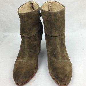 Rag & Bone Classic Newbury Suede Ankle Boots sz 11
